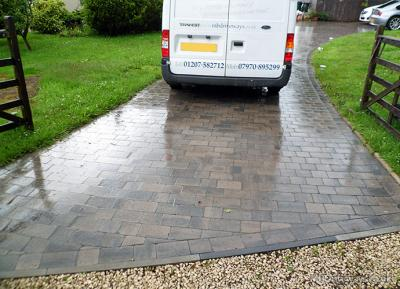 Block paving example