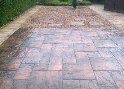 Patio in Shotley Bridge