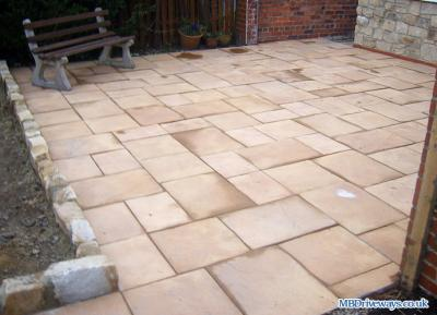 Patio in Whickham