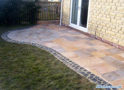 Patio in Stocksfield