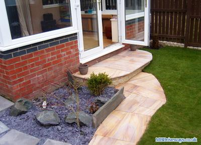 Patio in Weardale