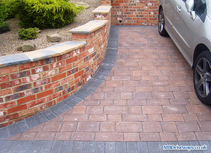 driveway, block paving, permeable, beamish cobble, thomas armstrong, harvest