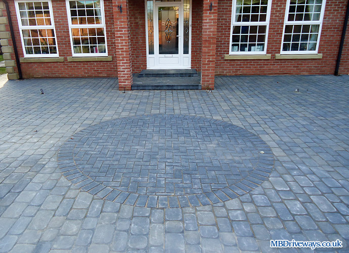driveway, drive, step, steps, feature, edging