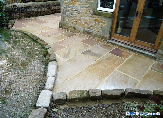 patio, path, paving, edging